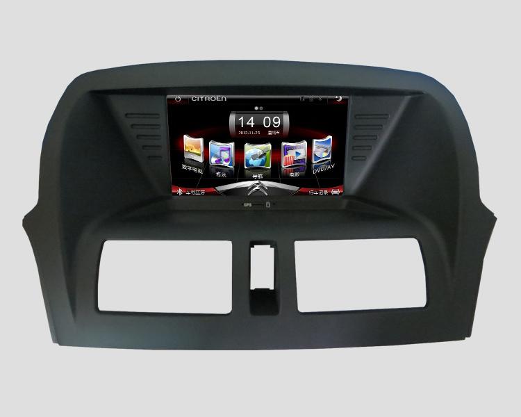 奔腾x80导航仪 一汽奔腾b50 dvd导航一体机 汽车gps导航仪及高清图片
